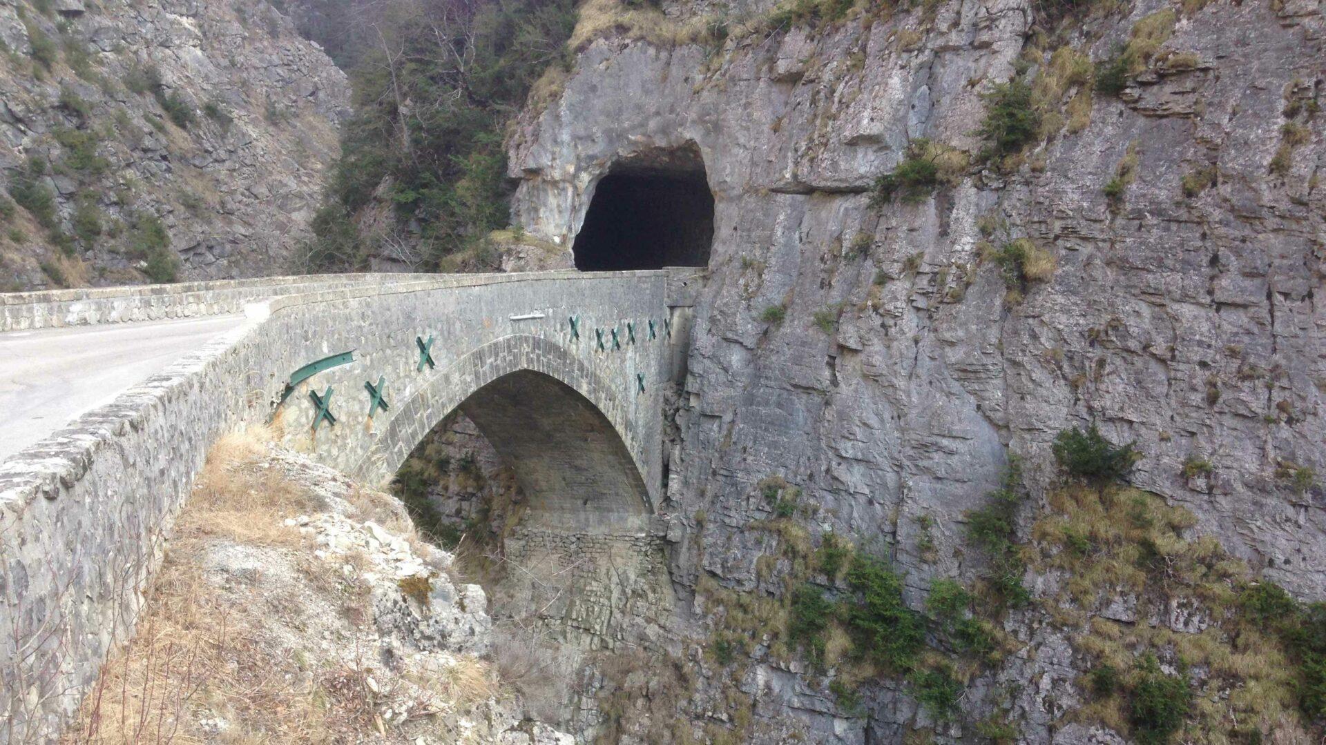 capteurs optiques Pont maçonné de Glandage